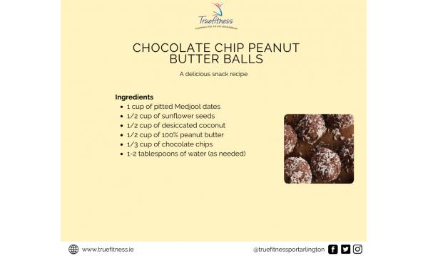Chocolate Chip Peanut Butter Balls