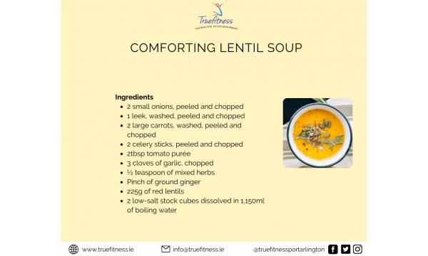Comforting Lentil Soup Recipe