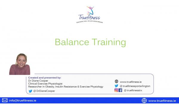 Balance Workshop + Exercise Video