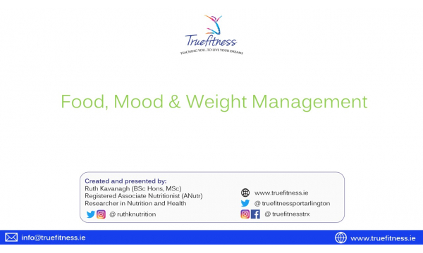 Food, Mood & Weight Management