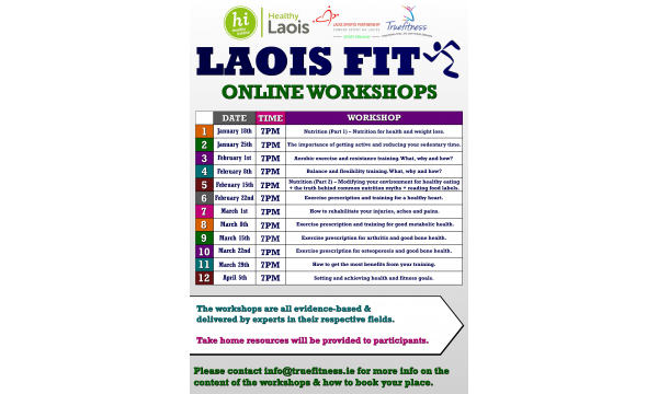Laois Fit Workshops