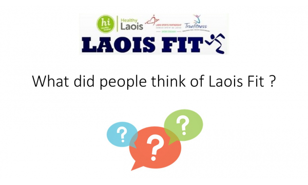 Well done to all Laois Fit participants who completed 12 weeks of lifestyle intervention!
